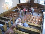Vele bezoekers kwamen een kijkje nemen in de Laurenstsjerke